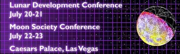 Lunar Development Conference / Moon Society Conference - Caesars Palace, Las Vegas