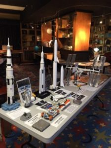 Part of Chuck Schlemm's exhibit at Vanderbilt's Dyer Observatory.