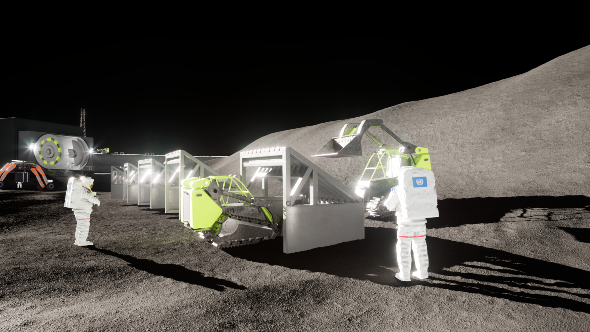 Moon Base Design Contest